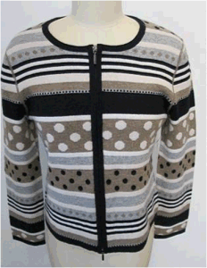 90% Cambswool 10% Cashmere Ladies / Women Sweater (E7773)