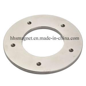 china powerful permanent neodymium magnet big ring shape with