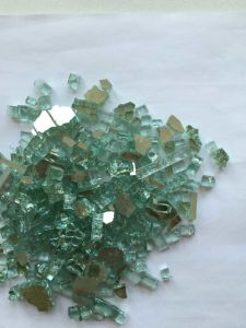 3-6mm Glass Coated Steel Particles -Green