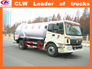 Foton 10000 Liters Sewage Suction Truck 10000 Liters Sewage Suction Trucks for Sale pictures & photos