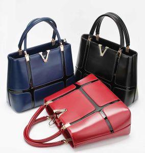 421d1650de Women Handbag Brand Messenger Bag Briefcase PU Leather Woman Bag Shoulder  Cross Body Bag Office Lady