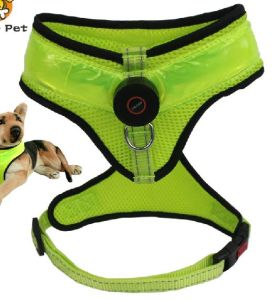 Pet Dog Puppy Colorful Flexible Harness (hns4001)