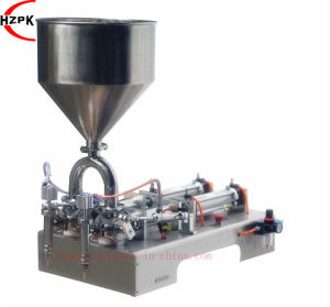 Double Head Paste Filling Machine (G2WG) pictures & photos