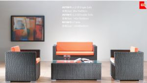 Rattan Furniture, Rattan Sofa, Design Sofa Set Ms-120