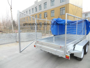 Hot DIP Galvanized Box Trailer for Newzealand pictures & photos