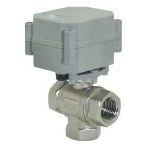 3 Way Electric Control Valve (T15-N3-A) pictures & photos