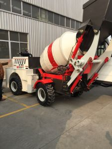 Concrete Mixer Truck 1.0cbm with Fully Automatic Control System pictures & photos