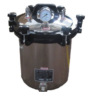 Medical or Laboratory Portable Steam Pressure Sterilizer pictures & photos