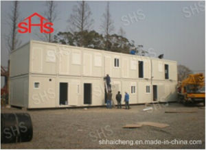 Steel Frame for Double Floor Office (SHS-fp-office002) pictures & photos