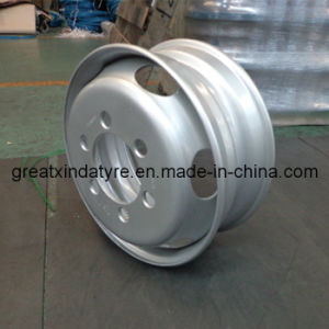 Truck Steel Wheel Rim 8.25X22.5 with Inmetro for Brazil Market pictures & photos