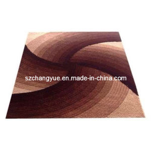 Polyester Modern Shaggy Carpets with Gradient Colors pictures & photos