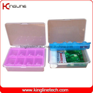 Plastic 8-Cases Pill Box (KL-9108) pictures & photos