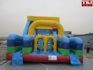 2015 Giant Inflatable Water Slide for Sale, Wave Water Slide Ybj