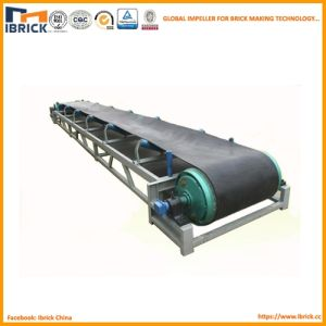 Clay Brick Belt Conveyor with Conveyor Roller and Frame