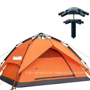Popular Double-Skin Aluminium Pole Hydraulic C&ing Tent for 4 Persons (JX-CT022-3)  sc 1 st  NINGBO YOUNGFUTAI IMPORT u0026 EXPORT CO. LTD. & China Popular Double-Skin Aluminium Pole Hydraulic Camping Tent ...