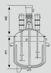 High Speed Reactor (100L-3000L) pictures & photos