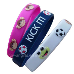 Adjustable Soft PVC Bracelet with Buckle (BR010) pictures & photos