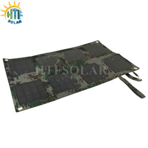 Portable Solar Charger for Laptop with 24W Mono Solar Panel
