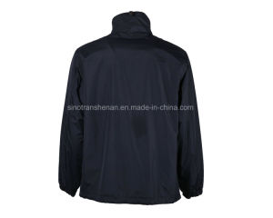 100% Polyester Waterproof Jacket Outer Wear pictures & photos