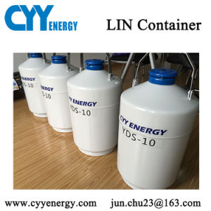 Filling Liquid Nitrogen Cryogenic Storage Container Liquid Nitrogen Dewar pictures & photos