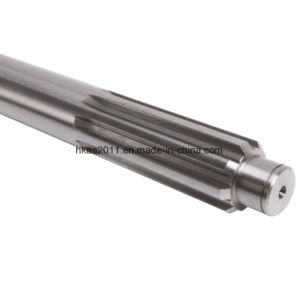 High Strength Carbon Steel OEM Printer Transmisstion Gear Shaft pictures & photos