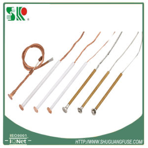 Manufacturing High Voltage K Type Copper Fuse Wire with Button Head Production in Batch