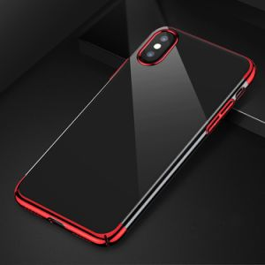 Luxury TPU Plating Case for iPhone X Back Cover Case Electroplating pictures & photos