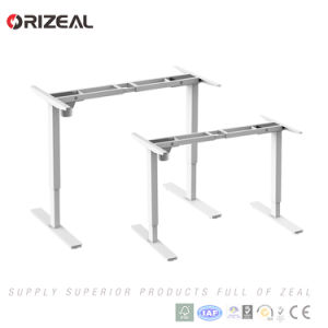 China Orizeal Stand Up Office Desk Electric Height Adjustable Desk