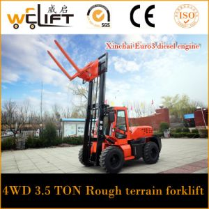 2.8t Rough Terrain Forklift (CPCY28) pictures & photos