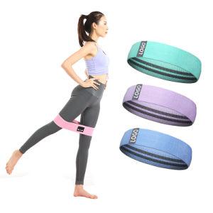 Workout Resistance Bands Loop Set Fitness Yoga Elastic Booty Leg Exercise Band