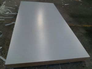 MDF with Melamine Face and Back, Warm White Color, Density: 720kgs pictures & photos