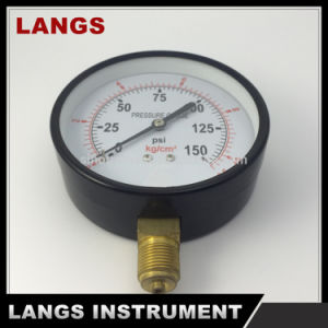 068 Factory 100mm Standard Dry Pressure Gauge pictures & photos