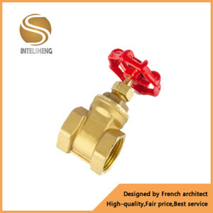 Natural Color Brass Gate Valve pictures & photos