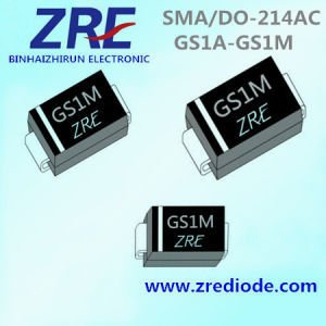 1A GS1a Thru GS1m General Purpose Rectifiers Diode SMA/Do-214AC Package pictures & photos