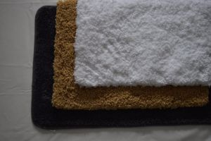 High Quality Anti Slip Polyester Microfiber Bath Rug