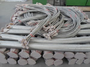 Screwed Joint Stainless Steel Bellows Metal Flexible Hose (304 316L) pictures & photos
