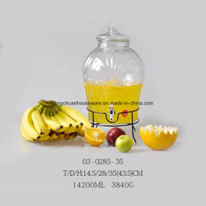 5L 8L 10L Different Big Beverage Jar with Faucet