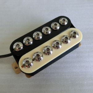 Chrome Hex Pole Black Color Humbucking Pickup Guitar pictures & photos