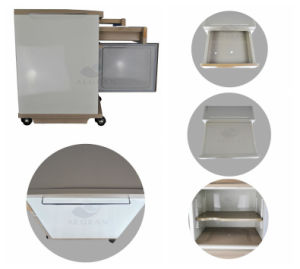 AG-Bc008 Hospital Furniture with One Drawer One Door Bedside Table pictures & photos