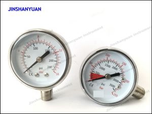 Gpg-006 Reduce Pressure for Ordinary Pressure Gauge/Regulator Double Manomter pictures & photos