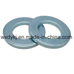 DIN125 Carbon Steel Zinc Plated Plain Washer pictures & photos