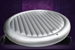 PVC Water Bed, Airbed Inflatable Waterbed Mattress