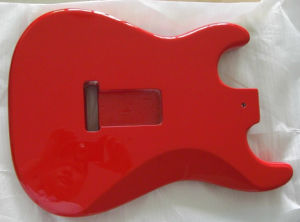 Gloss Finished Alder Candy Apple Red St Guitar Body pictures & photos