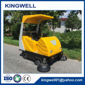 Battery Opreated Cleaning Machine Road Sweeper (KW-1760C) pictures & photos