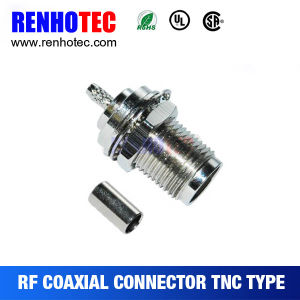 TNC Female Coaxial Connector Crimp Cable RG58/RG59/RG6 pictures & photos