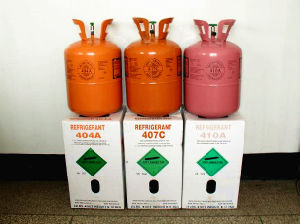 Refrigerant Gas R404A From China 10.9kg Bottle Packaging