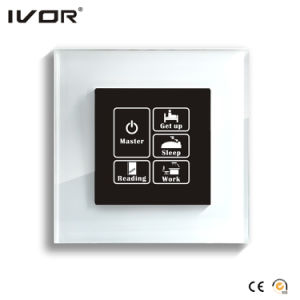 1 Gang Lighting Switch Touch Panel Glass Outline Frame (HR1000-GL-L1) pictures & photos