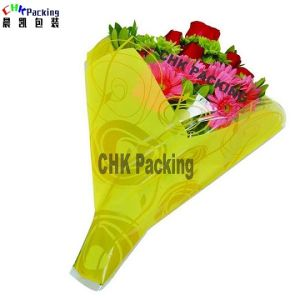China Qingdao Chk Packing White Color Cellophane Flower