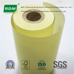 Yellow Thermal Roll Paper for Brazil Market pictures & photos