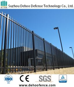 Ce/SGS Interpon Coated Lanceolate Industrial Security Fence pictures & photos